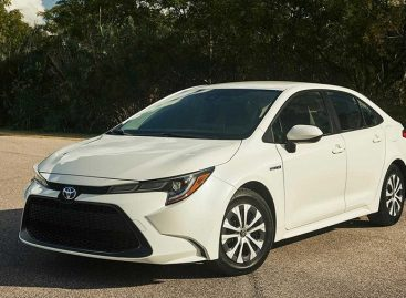 Представлена гибридная версия Toyota Corolla Hybrid