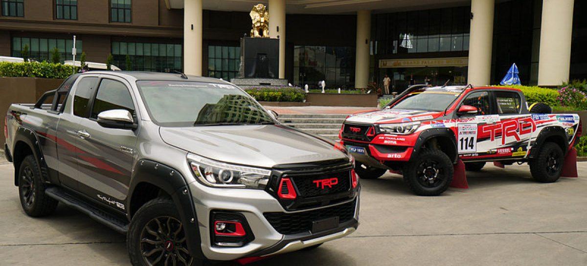 Выпущена спецверсия пикапа Toyota Hilux для ралли