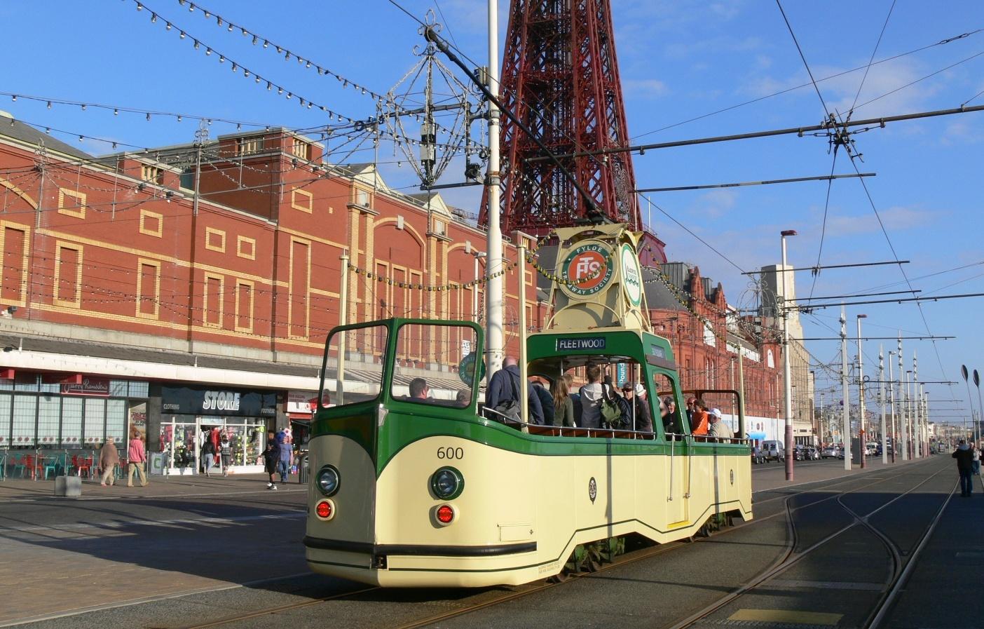 Трамвай кабриолет