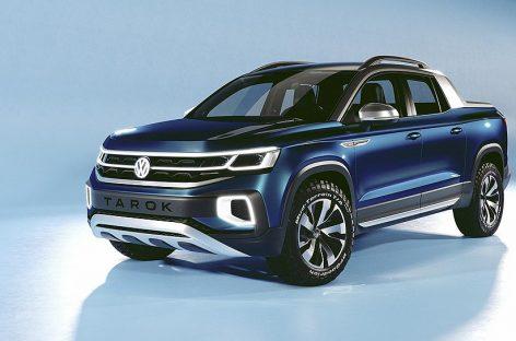 Представлен новый компактный пикап Volkswagen Tarok