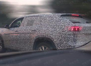 Шпионские фото купеобразной версии внедорожника Volkswagen Teramont