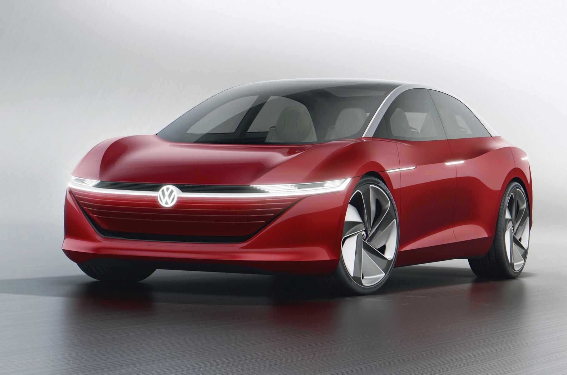 Volkswagen электрокар