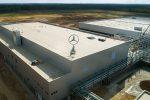 На российском заводе Mercedes начались пусконаладочные работы