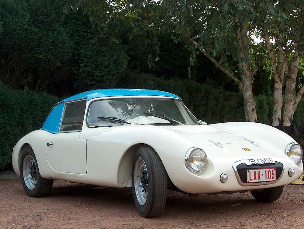 Zelensis-Coupe VW 1961