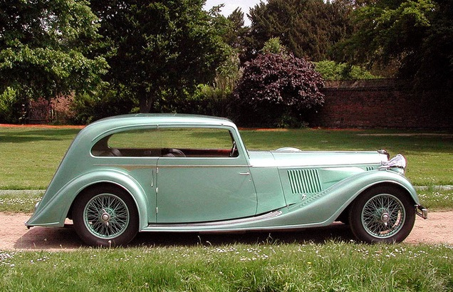 Alvis speed 25 Coupe by Vanden plas 1938