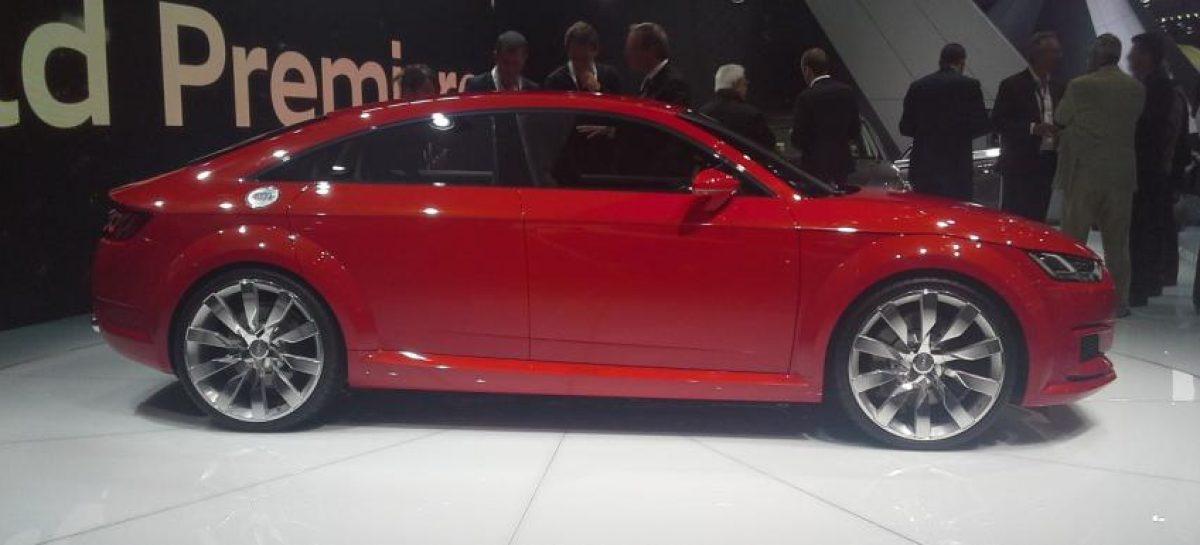 Купе Audi TT может стать 4-дверным
