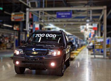 С конвейера Джи-Эм АвтоВАЗ сошел 700-тысячный автомобиль