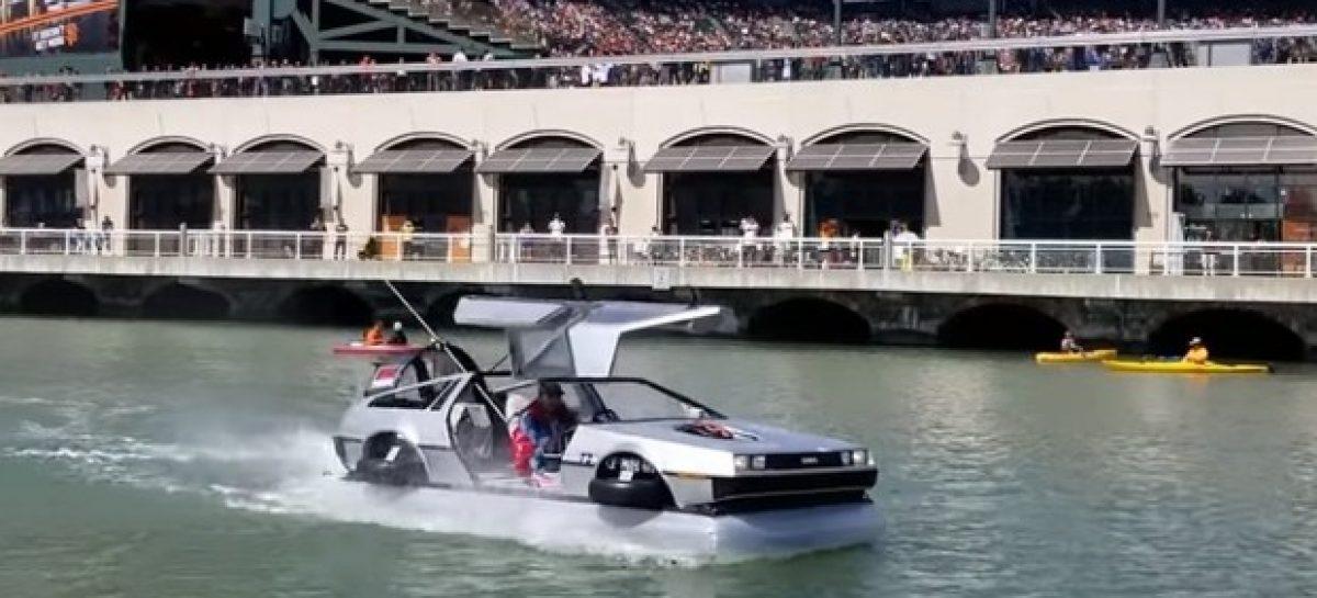 Уникальный DeLorean продают за 45 000 долларов