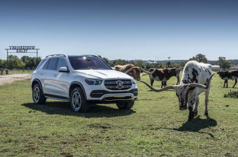 Тест-драйв Mercedes-Benz GLE: Белый воротничок
