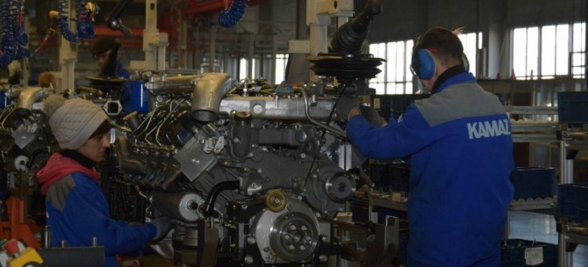 КАМАЗ запустит производство двигателей Р6 в следующем году