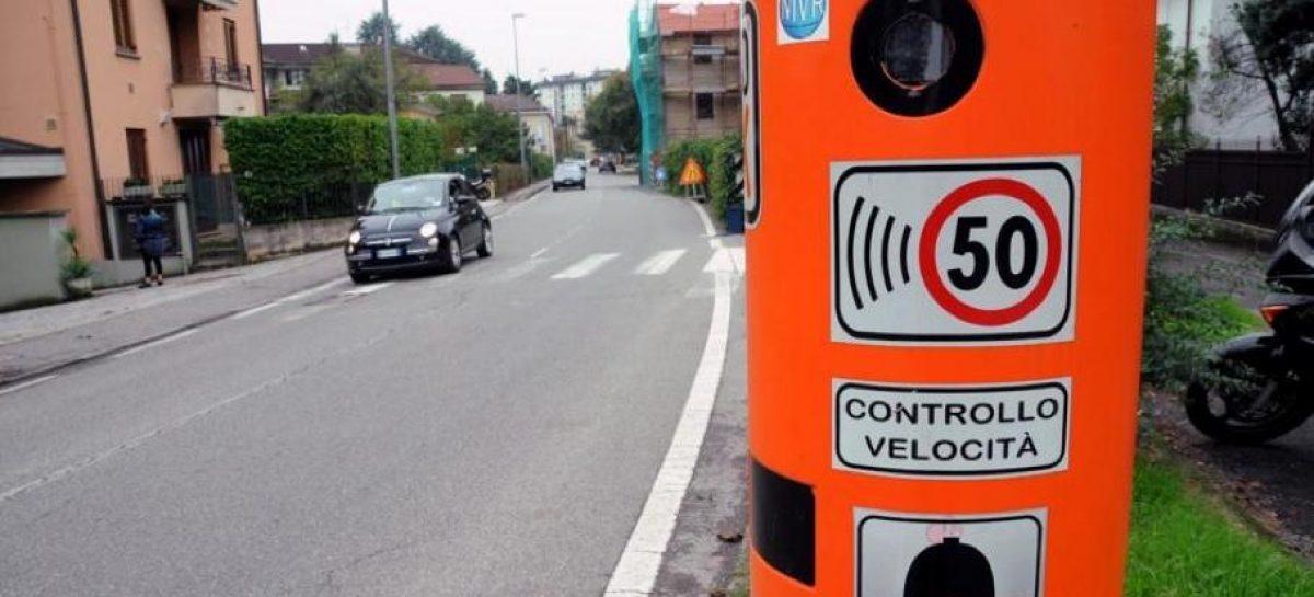 В итальянском городке превысили скорость 59 тысяч раз за 14 дней