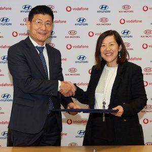 Hyundai заключил партнёрское соглашение с Vodafone
