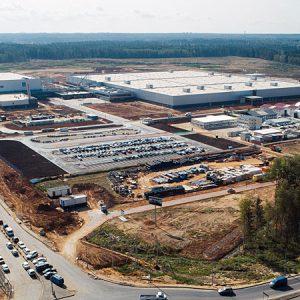 В апреле 2019 года откроется завод Mercedes в Подмосковье