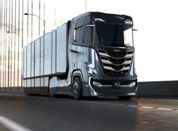 Nikola представил новую модель грузовика на водородной установке