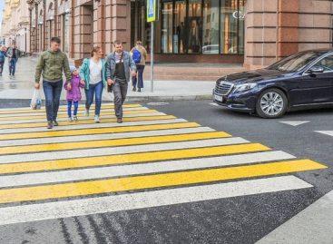 Пешеходные «зебры» хотят приподнять по типу «лежачих полицейских»