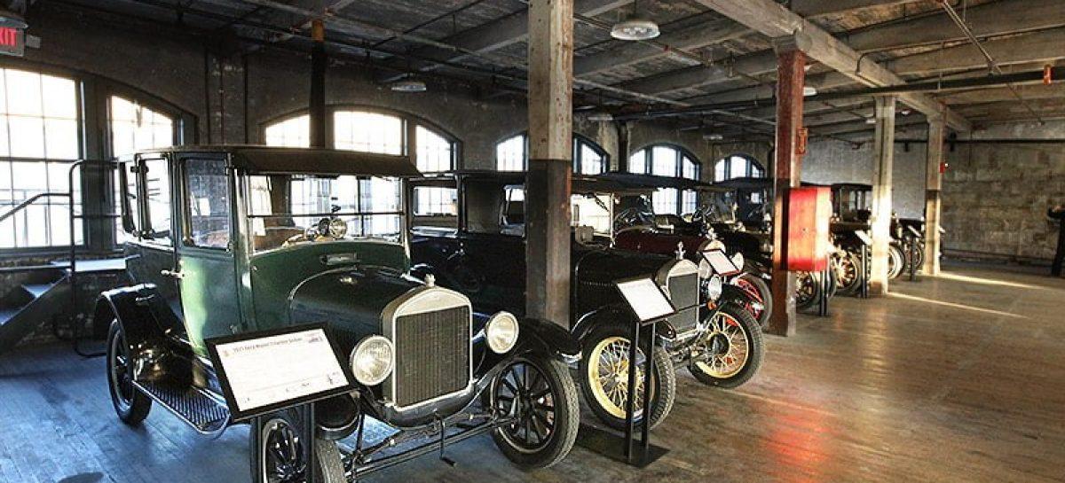 Представлена единственная в мире коллекция первых автомобилей Ford