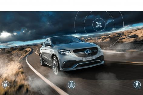 Автомобили Mercedes-Benz получили собственную спутниковую противоугонную систему