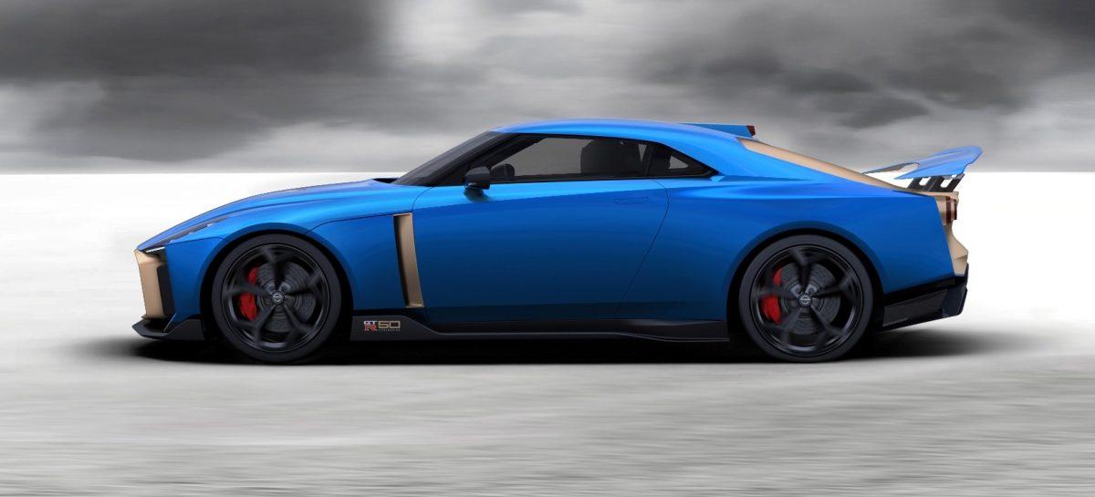 Открыт прием заказов на лимитированную версию Nissan GT-R50 от Italdesign
