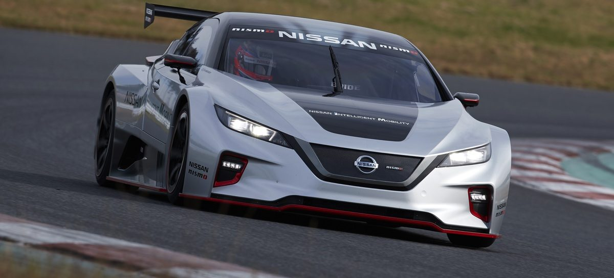 В Токио представлен новый Nissan LEAF NISMO RC