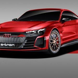 Три возможных электрических модели Audi