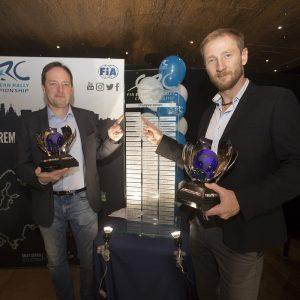 Алексей Лукьянюк и Алексей Арнаутов дважды за прошлую неделю получили награды за победу в ERC