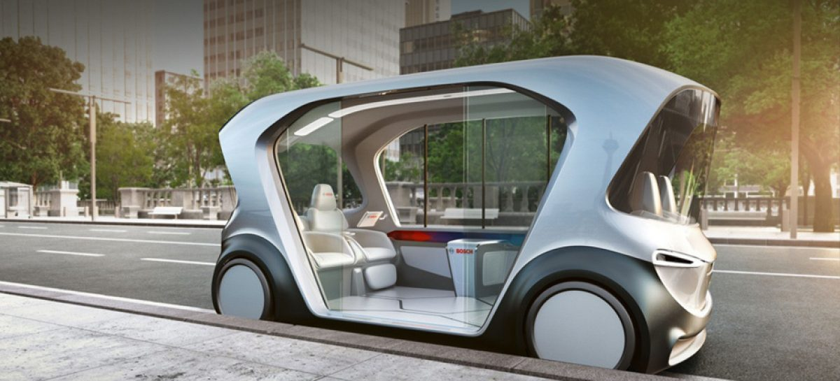 Bosch создаст интеллектуальную мобильную систему с полным спектром услуг