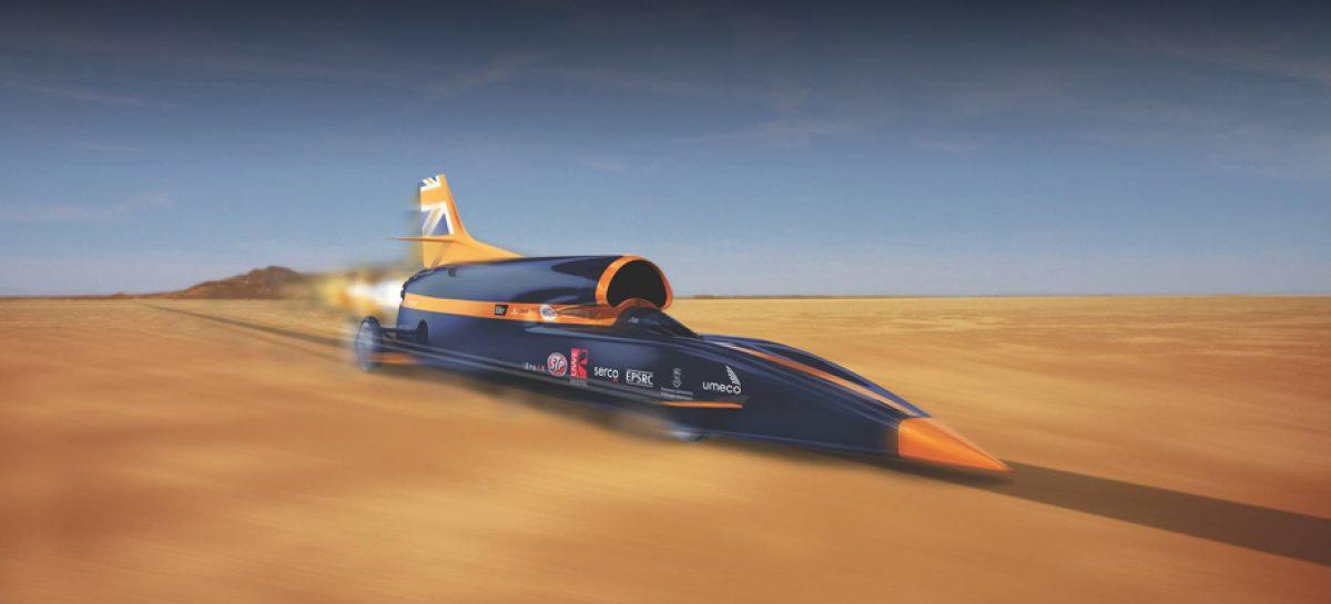Проект по созданию сверхзвукового автомобиля Bloodhound выкуплен