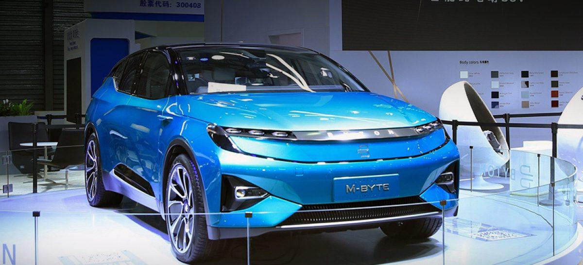 Анонсирована премьера серийного электромобиля Byton M-Byte