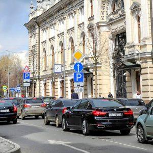 Парковка в Москве будет стоить 380 рублей в час