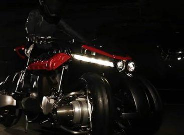 Lazareth Auto-Moto представит летающий мотоцикл