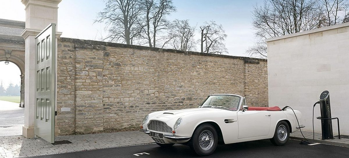 Aston Martin наладит замену ДВС в классических спорткарах электромотором