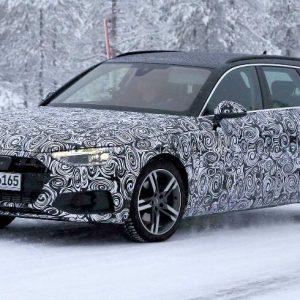 Шпионские фото обновленного Audi A4 Avant