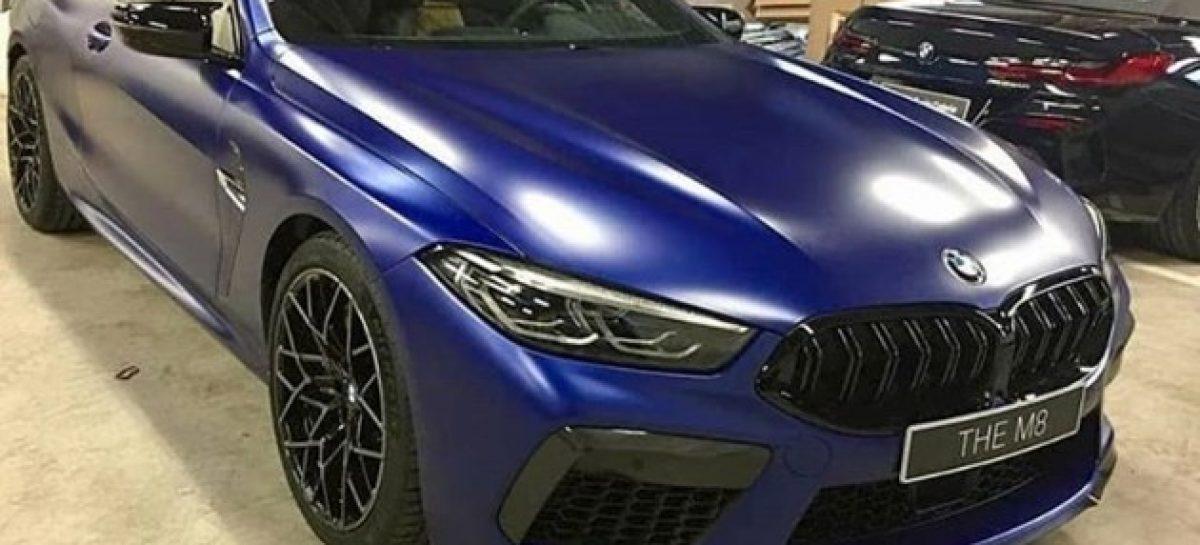 Внешность BMW M8 рассекречена