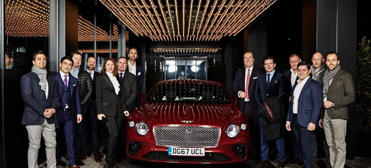 Bentley награждает лучших в Европе менеджеров по продажам