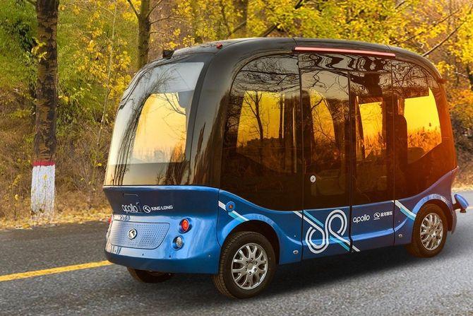Беспилотный автобус Apolong