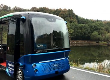 Шаттлы Apolong выйдут на реальный маршрут в Китае