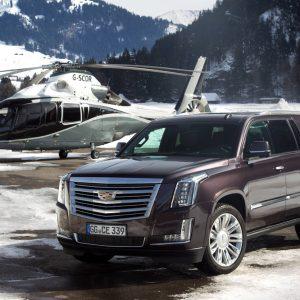 Купи Cadillac Escalade - получи XT5 в подарок - акция от GM
