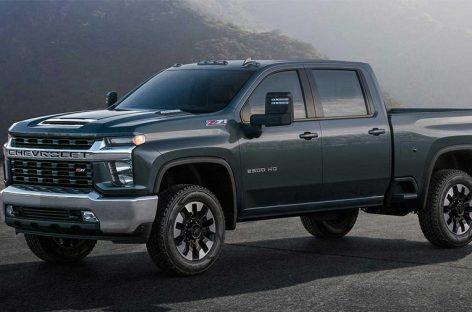 Рассекречен новый пикап Chevrolet  Silverado HD