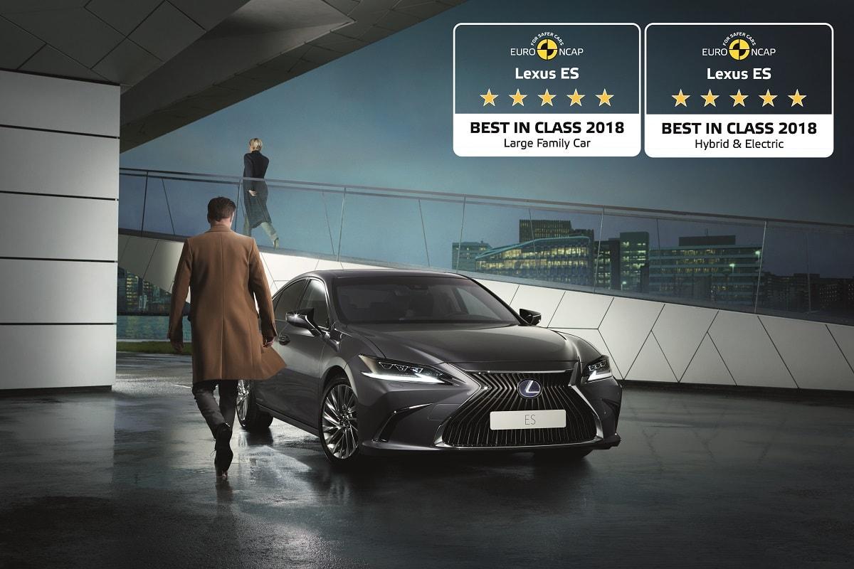 ES 300h Luxury Euro NCAP