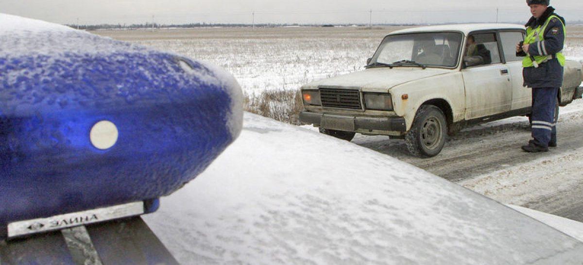 "Как сотрудники ГИБДД разводят водителей за ""не те шины"""