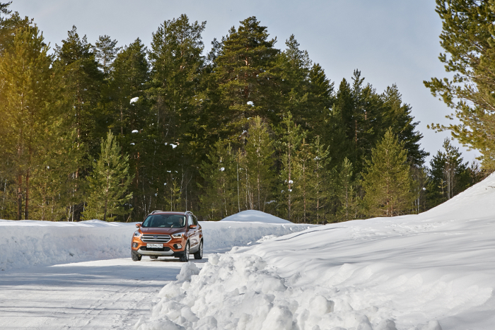 Ford Kuga winter
