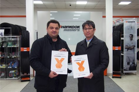 Открылся новый магазин Hankook Masters в Москве