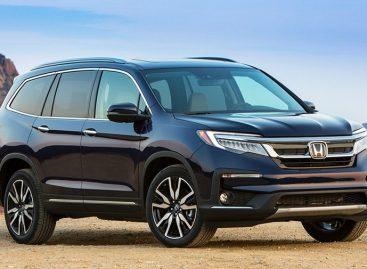 Honda Pilot приедет в Россию в 2019 году