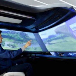 Hyundai представит концепт интеллектуального интерьера для беспилотников