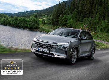 Hyundai Nexo назван лучшим в своем классе в 2018 году по версии Euro NCAP