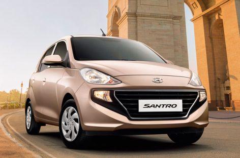 За полтора месяца Hyundai Santro собрал 45 000 заказов