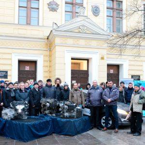 Завод Hyundai подарил Solaris СПбГАСУ
