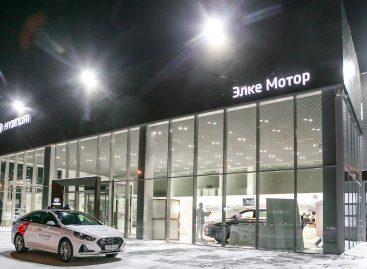 В Томске открылся дилерский центр Hyundai