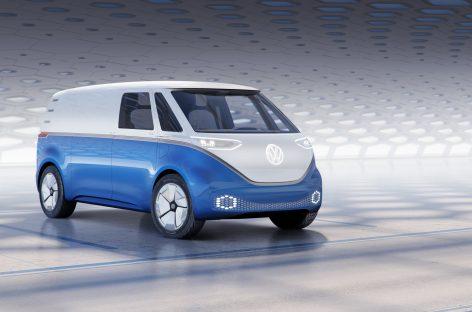 Представлен Volkswagen I.D. BUZZ CARGO на Автосалоне в Лос-Анджелесе