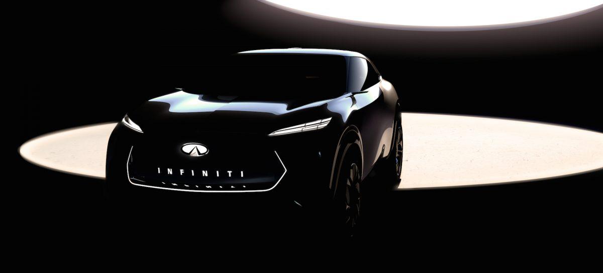 Infiniti представит полностью электрический кроссовер на новой платформе EV